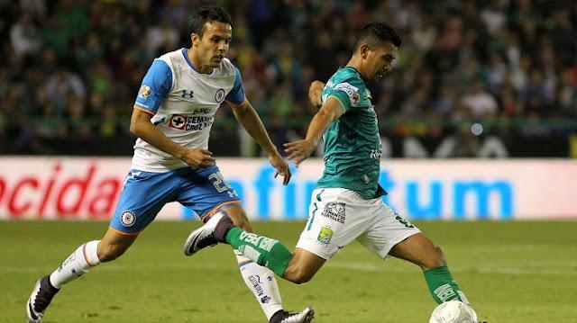 Leon vs Cruz Azul en vivo online