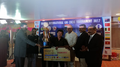 Bhopal prizegiving ceremony, rounds 9 and 10
