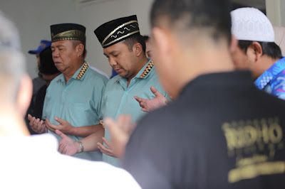 Datangi KPUD Lampung, Ridho Berbakti II Disambut Musik Tambur