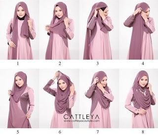 Inspirasi Video Tutorial Hijab Modern Ala Lyra Virna Terbaru 2017