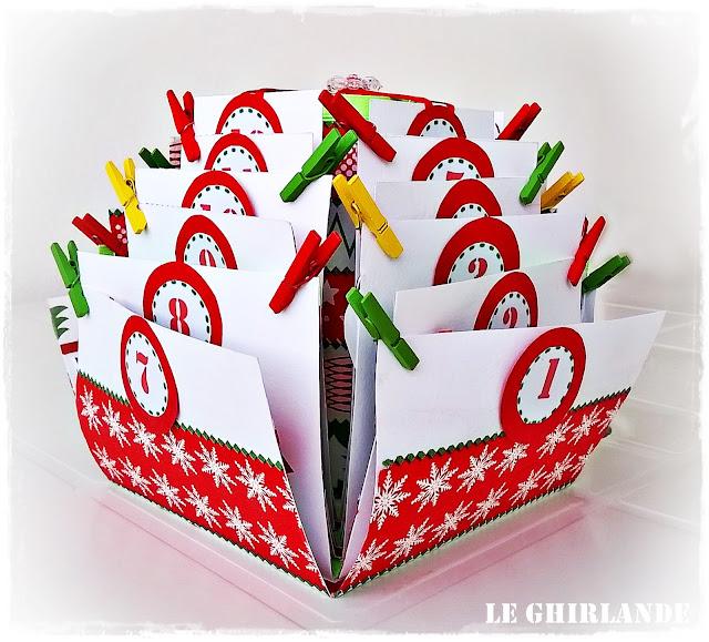 calendario explosion box avvento