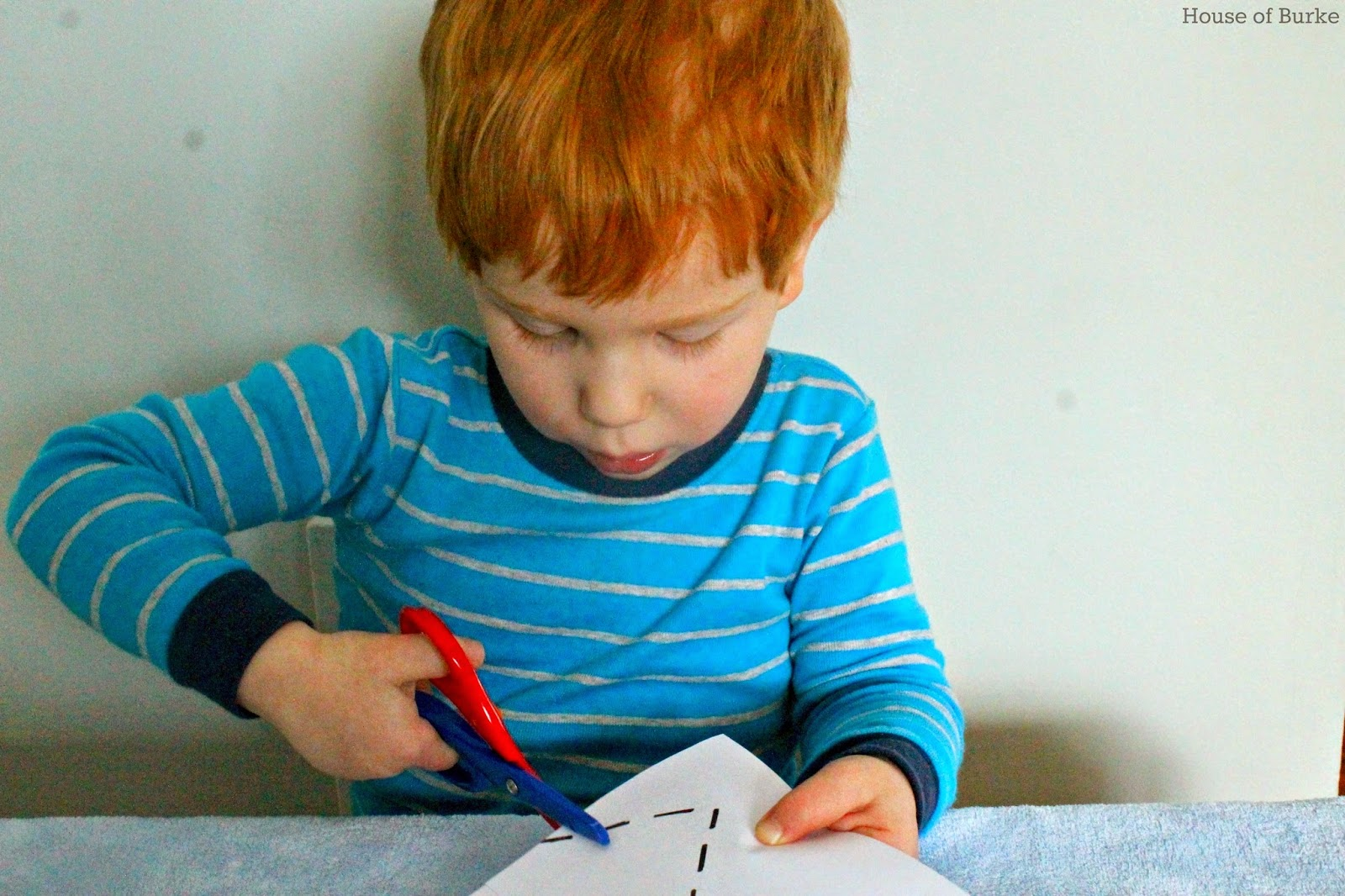 House Of Burke Introducing Scissors To Toddlers