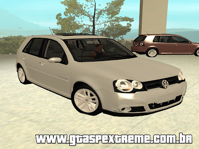 Vw Golf Sportline 2011 Limited Edition para GTA San Andreas