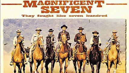 「七人の侍」の米国西部劇版「荒野の七人」