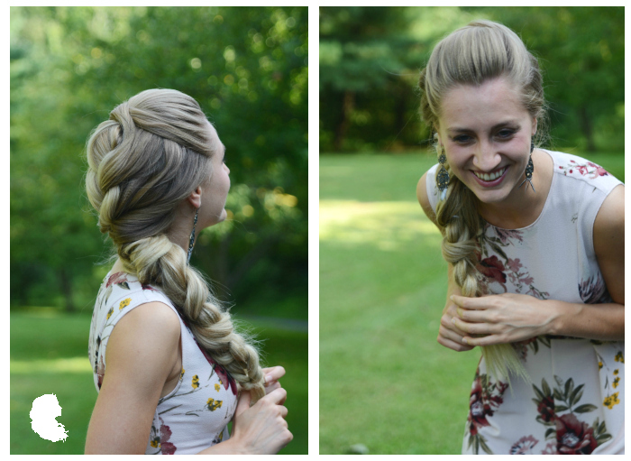 Big Romantic Braid / Hair and photography by Taming Rapunzel