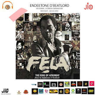 "FREEBEAT: - ""Fela King Of Afro Beat"" (Prod. By Endeetone D'BeatLord)"