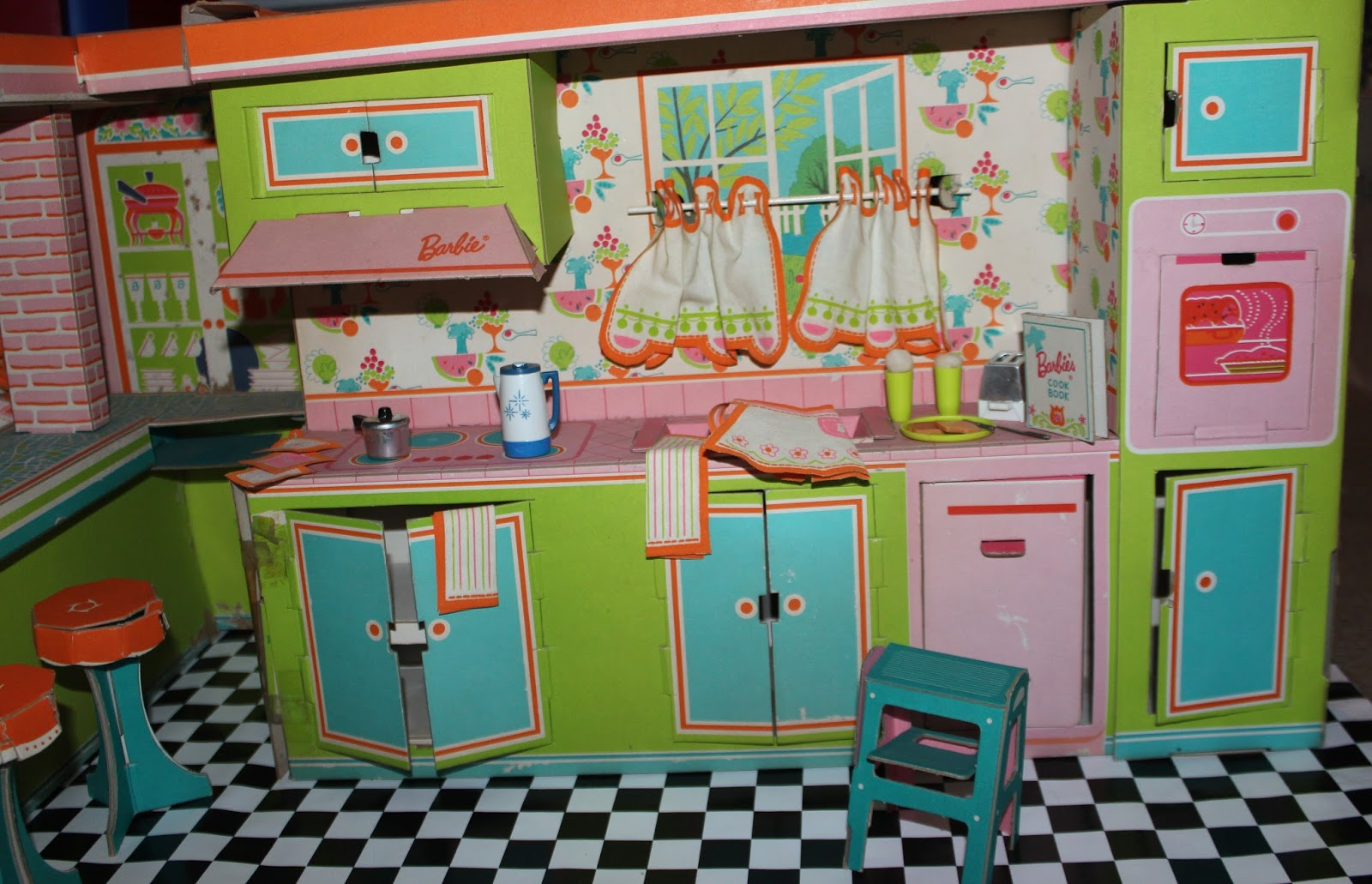 barbie kitchen furniture planet of the dolls recent barbie u0027s dream kitchen