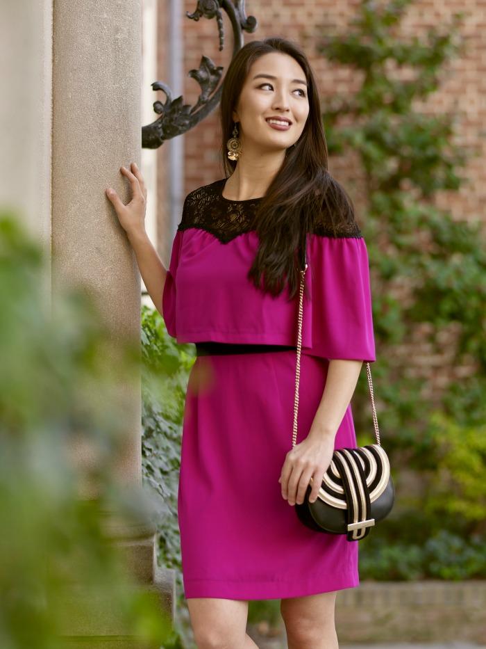 pink dezzal dress