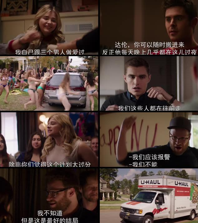 Neighbors 2 Sorority Rising 2016 English 720p HC WEBRip