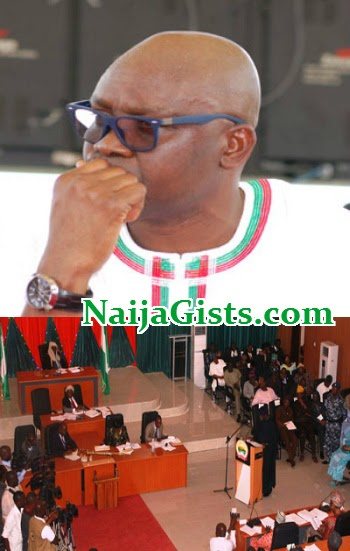 fayose impeachment latest news