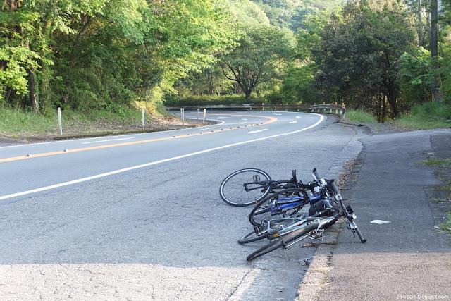 日本のサイクリング風景 Japan-cycling