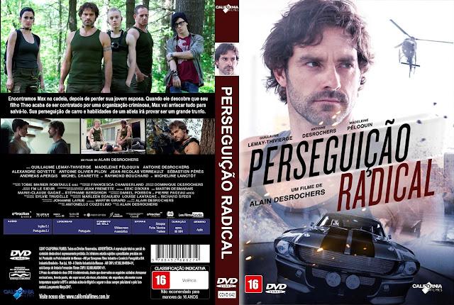 Capa DVD Perseguição Radical [Exclusiva]