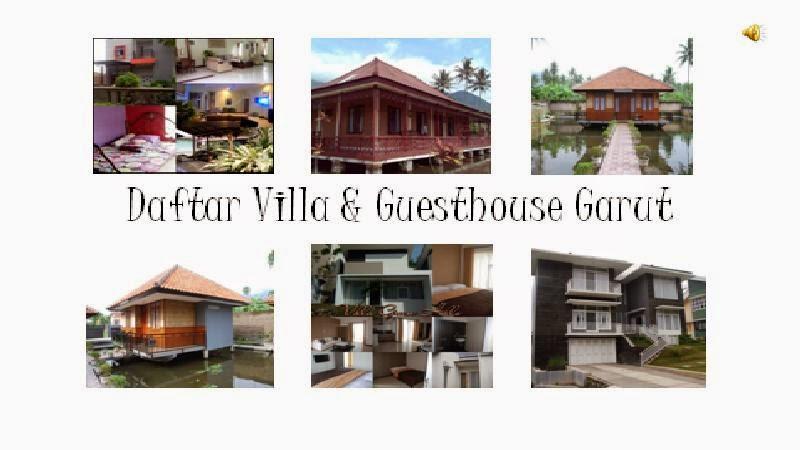 Daftar Villa & GuestHouse Garut