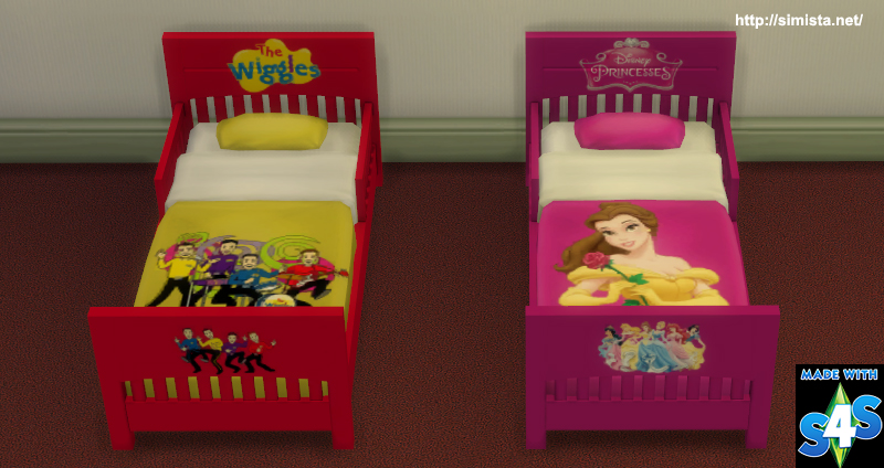 Toddling Toddler Bed