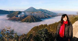 Keindahan Gunung Bromo di Jawa Timur