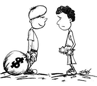 Resultado de imagem para diferença de rico e pobre crimes  pobre humor