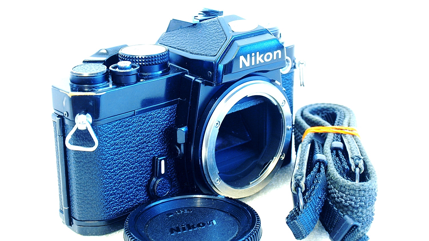 Nikon FM (Black) Body #934