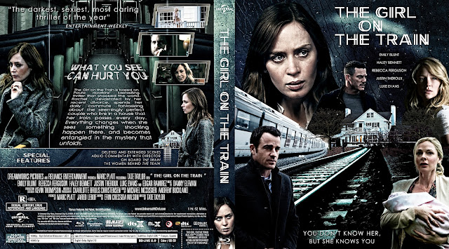 Capa Bluray The Girl On The Train