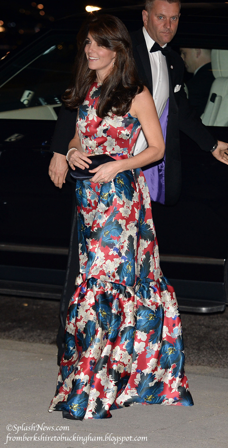 Kate Shakes Up Her Sartorial Line Up In Erdem at the V A Wednesday  October 28  2015