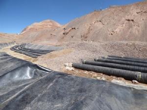 El ministro de Minería y el equipo de técnicos que subió a la mina dio detalles del último incidente. GARANTIZAN LAS FUENTES LABORALES HASTA QUE LA EMPRESA ARREGLE LO QUE SE DAÑÓ.