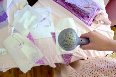 DIY Lace and Chic Bunting