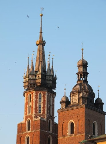 Krakow Main Market Square Henjalica Tower