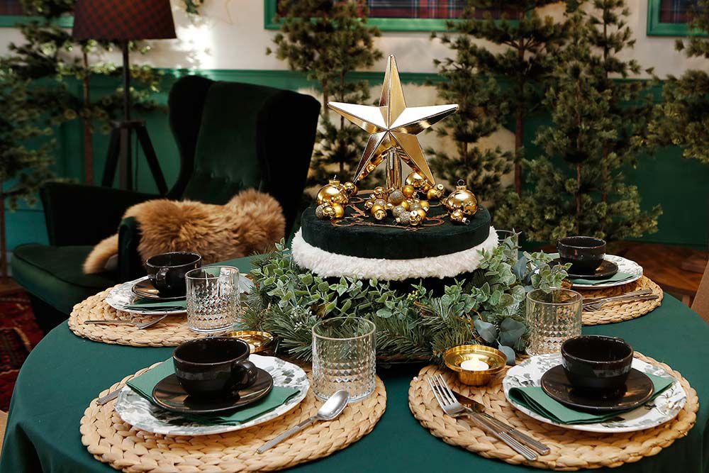 centro de mesa ikea para decorar cena de nochevieja o fin de año caja para guardar móviles
