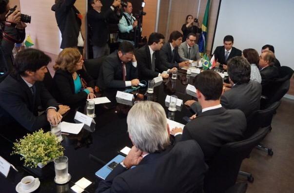 Resultado de imagem para Henrique Alves reunião deputados RN ministro