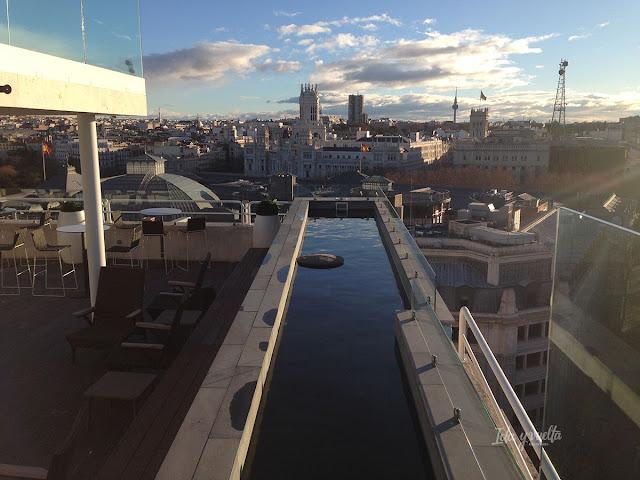 Vista desde la azotea Innside Madrid Suecia