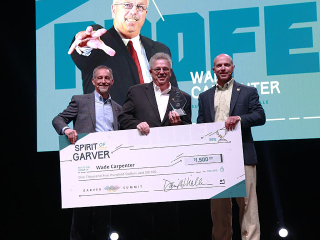Carpenter and Hetzel Win Spirit of Garver Awards