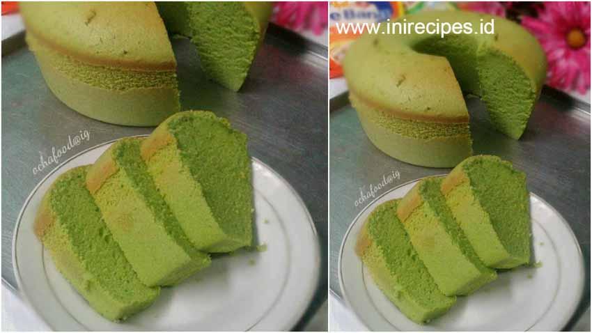 Resep Membuat Kue Bolu Pandan Kacang Ijo