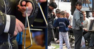 Ρομά λήστεψαν 13χρονα παιδιά που έλεγαν τα κάλαντα