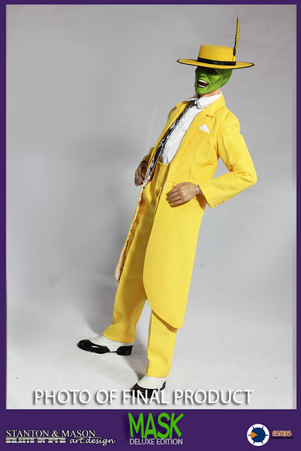 osw.zone Stanton & Mason x Asmus Toys 1 / 6th scale Jim Carrey The Mask 12-inch figure (deluxe version)