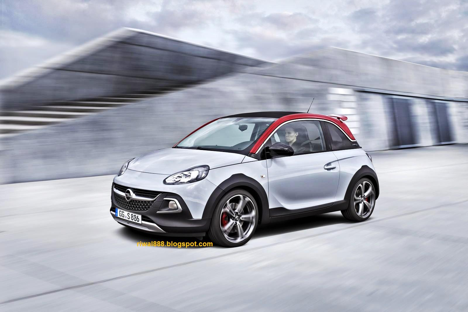 riwal888 blog new rugged pocket rocket opel adam rocks s from euro. Black Bedroom Furniture Sets. Home Design Ideas