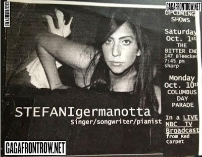 Image result for vintage lady gaga stefani germanotta poster