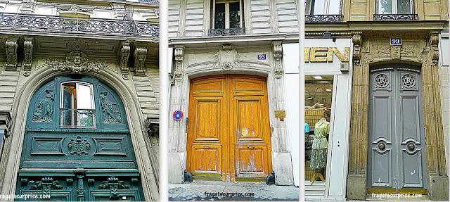 Fachadas do 11º Arrondissement, em Paris