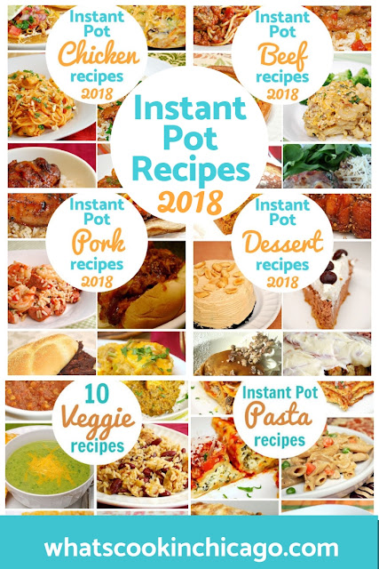 Instant Pot: 2018 Mega Recipe Round Up!