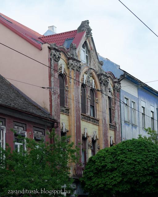 Barokk palota Arad belvárosában