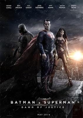 poster filme batman vs superman origem da justiça