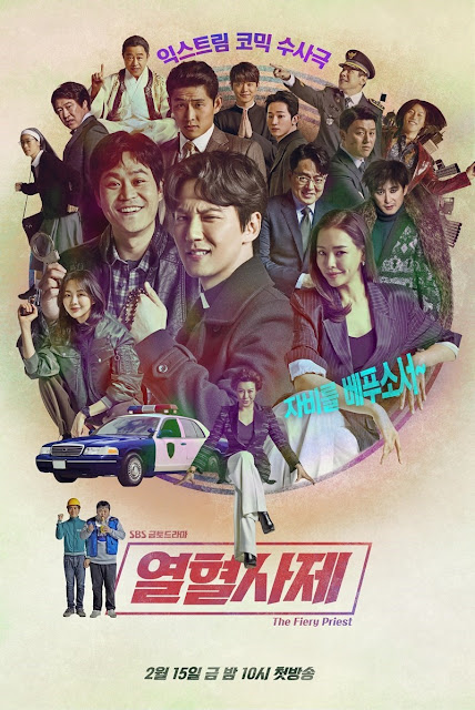 Drama Korea The Fiery Priest Subtitle Indonesia