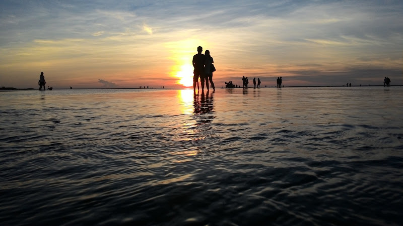 Silhouettes on Water HD