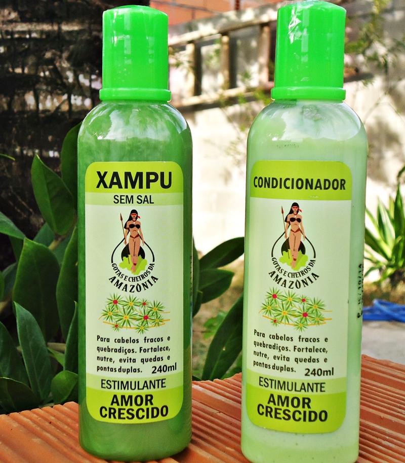 Shampoo e Condicionador Amor Crescido da Nyata Cosméticos