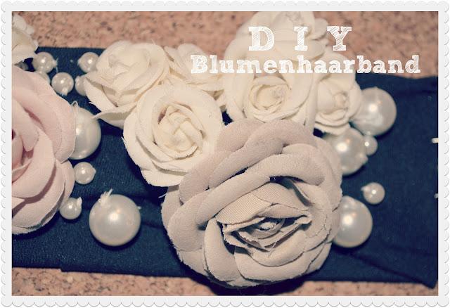 DIY: Blumenhaarband