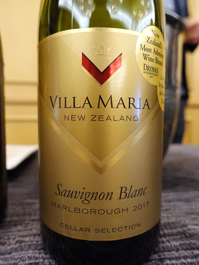 Villa Maria Cellar Selection Sauvignon Blanc 2017 (89 pts)