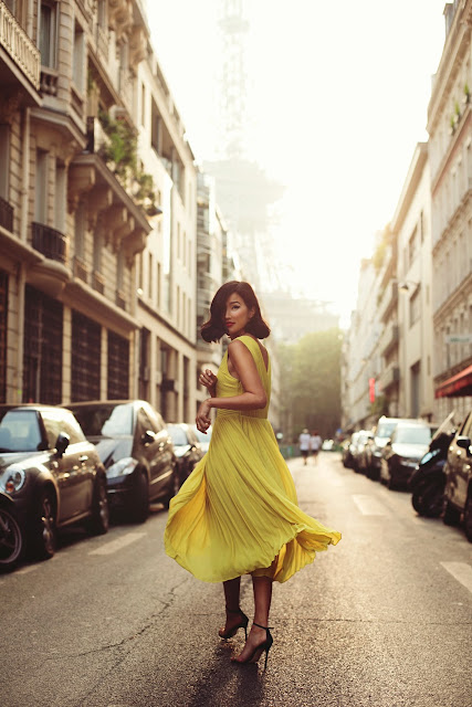 Fashion inspiration Nicole of Gary Pepper in Paris :: Cool Chic Style Fashion