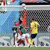 Goles - México 0-3 Suecia