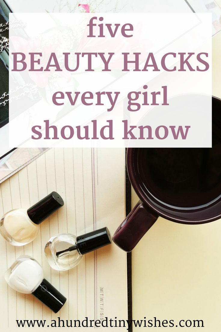 Do you like beauty hacks? Here's 5 that every girl NEEDS to know about.