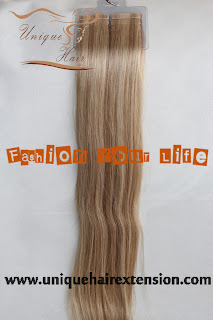 40pcs tape hair weft extensions