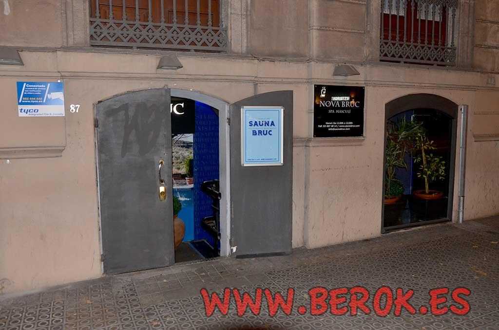 Berok graffiti mural profesional en barcelona febrero 2016 - Saunas en barcelona ...