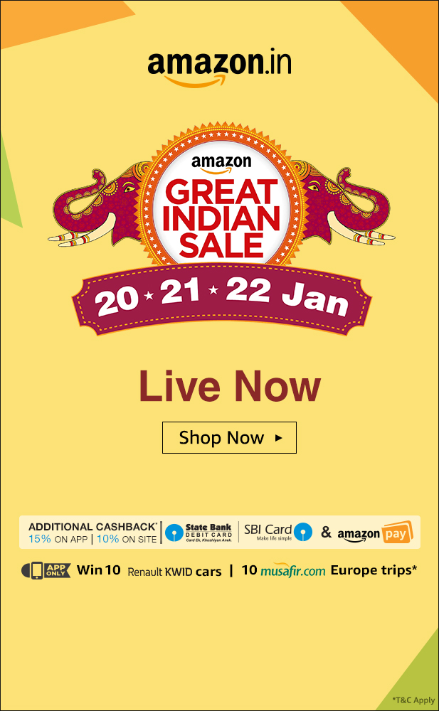 Amazon Great Indian Sale - AhaNOW